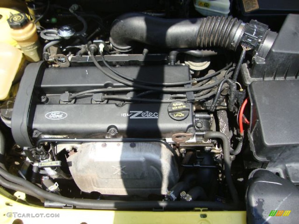 2002 Ford Focus Zx3 Coupe 2 0 Liter Dohc 16