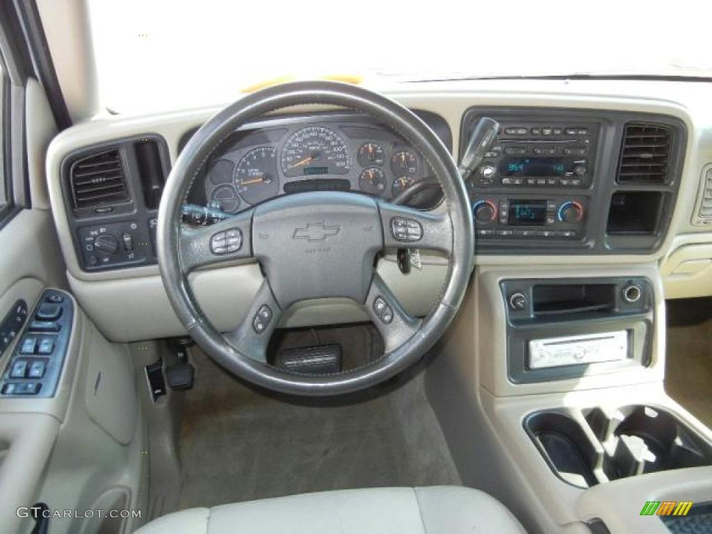 2004 chevrolet suburban 1500 lt tan neutral dashboard photo 53394857