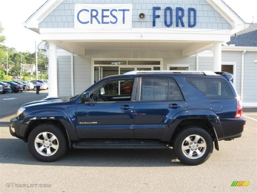 2005 pacific blue metallic toyota 4runner sr5 4x4 53328120 car color galleries. Black Bedroom Furniture Sets. Home Design Ideas