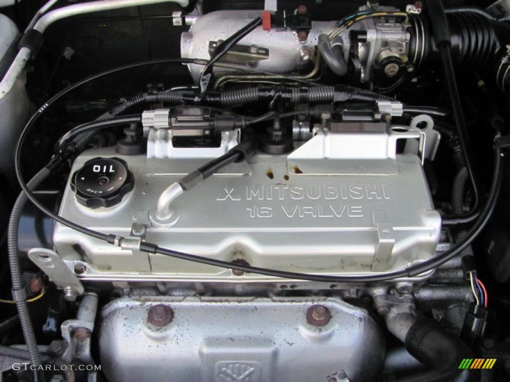 Mitsubishi 2004 mitsubishi lancer engine : 2004 Mitsubishi Lancer ES 2.0 Liter SOHC 16-Valve MIVEC 4 Cylinder ...