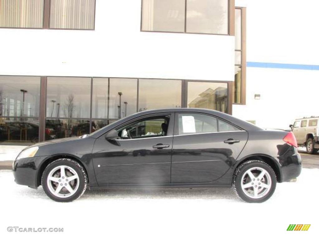 2009 Carbon Black Metallic Pontiac G6 Gt Sedan 53364610 Gtcarlot Com Car Color Galleries