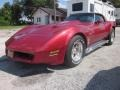 Front 3/4 View of 1982 Corvette Coupe