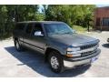 2002 Medium Charcoal Gray Metallic Chevrolet Silverado 1500 LS Extended Cab 4x4  photo #13