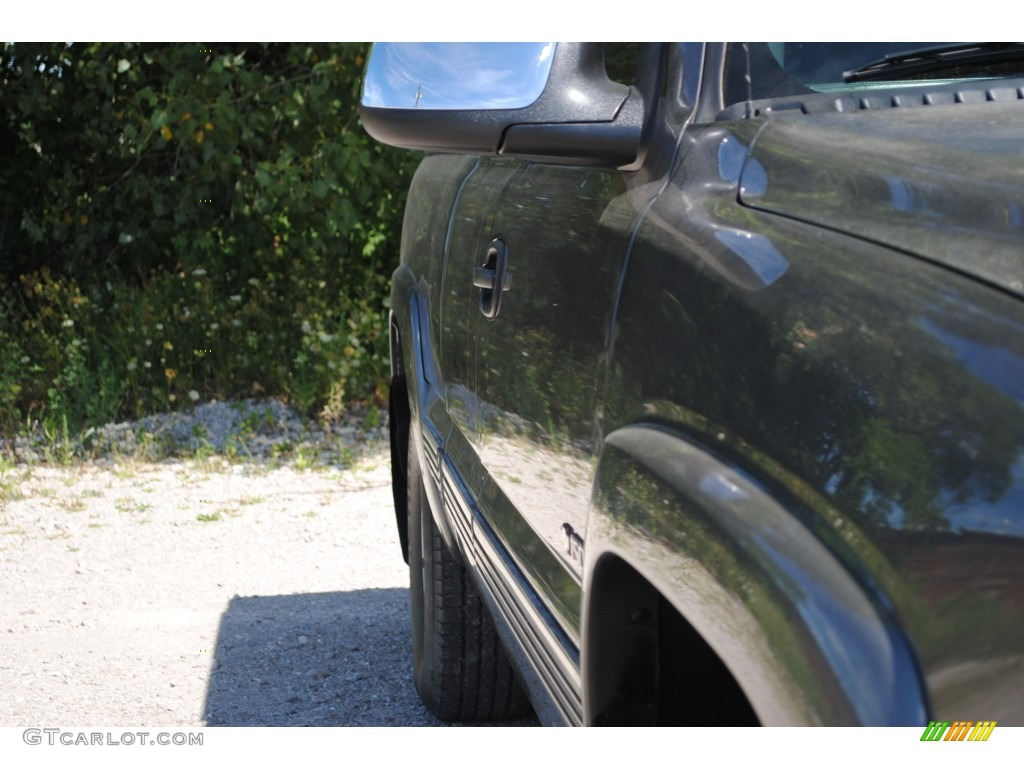 2002 Silverado 1500 LS Extended Cab 4x4 - Medium Charcoal Gray Metallic / Graphite Gray photo #14