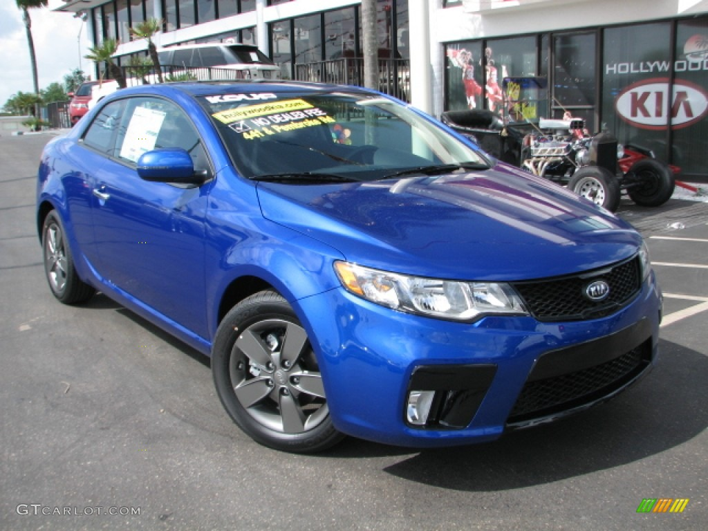 Corsa Blue 2011 Kia Forte Koup Sx Exterior Photo 53401721 Gtcarlot Com