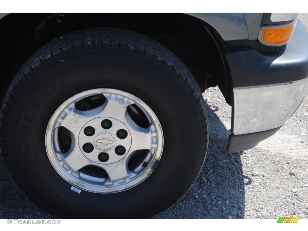 2002 Silverado 1500 LS Extended Cab 4x4 - Medium Charcoal Gray Metallic / Graphite Gray photo #40