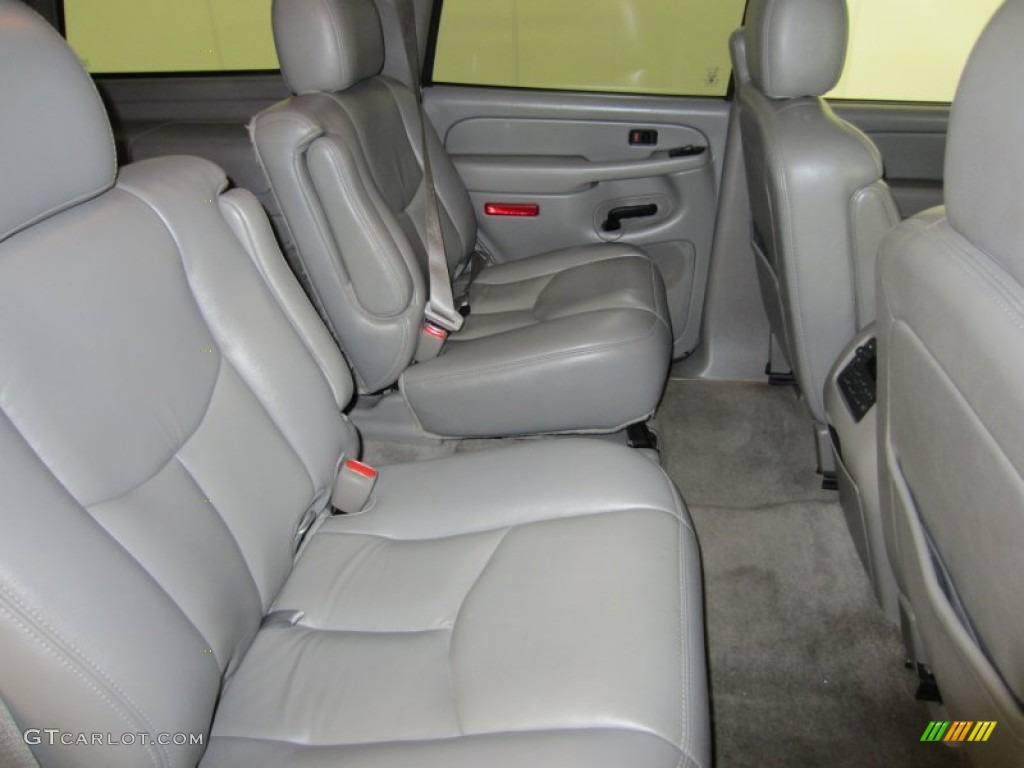 Gray dark charcoal interior 2006 chevrolet tahoe z71 4x4 photo 53401934