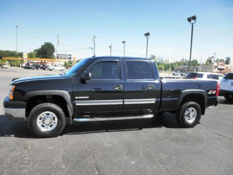 2003 chevrolet silverado 2500hd lt crew cab 4x4 data info and specs. Black Bedroom Furniture Sets. Home Design Ideas