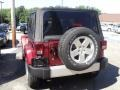 2012 Deep Cherry Red Crystal Pearl Jeep Wrangler Sahara 4x4  photo #4