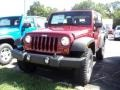 2012 Deep Cherry Red Crystal Pearl Jeep Wrangler Rubicon 4X4  photo #1