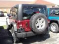 2012 Deep Cherry Red Crystal Pearl Jeep Wrangler Rubicon 4X4  photo #4