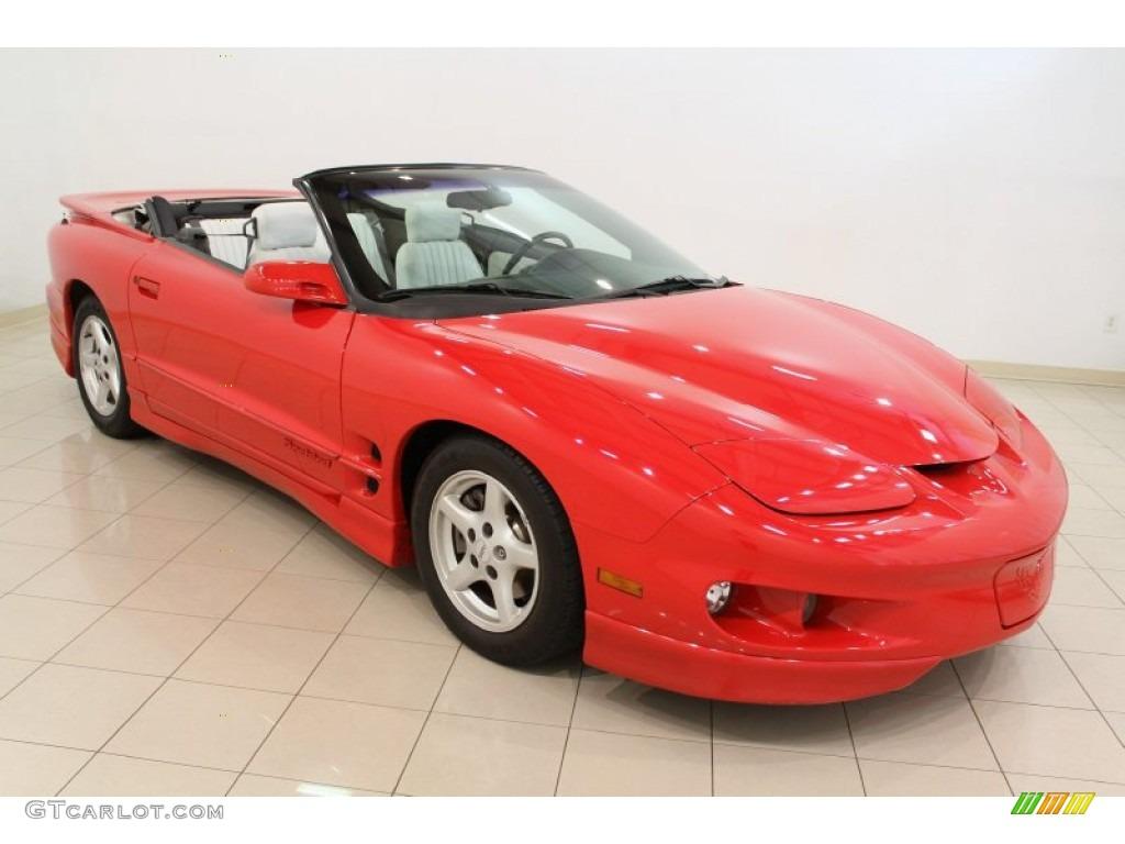 1998 Bright Red Pontiac Firebird Convertible 53364661