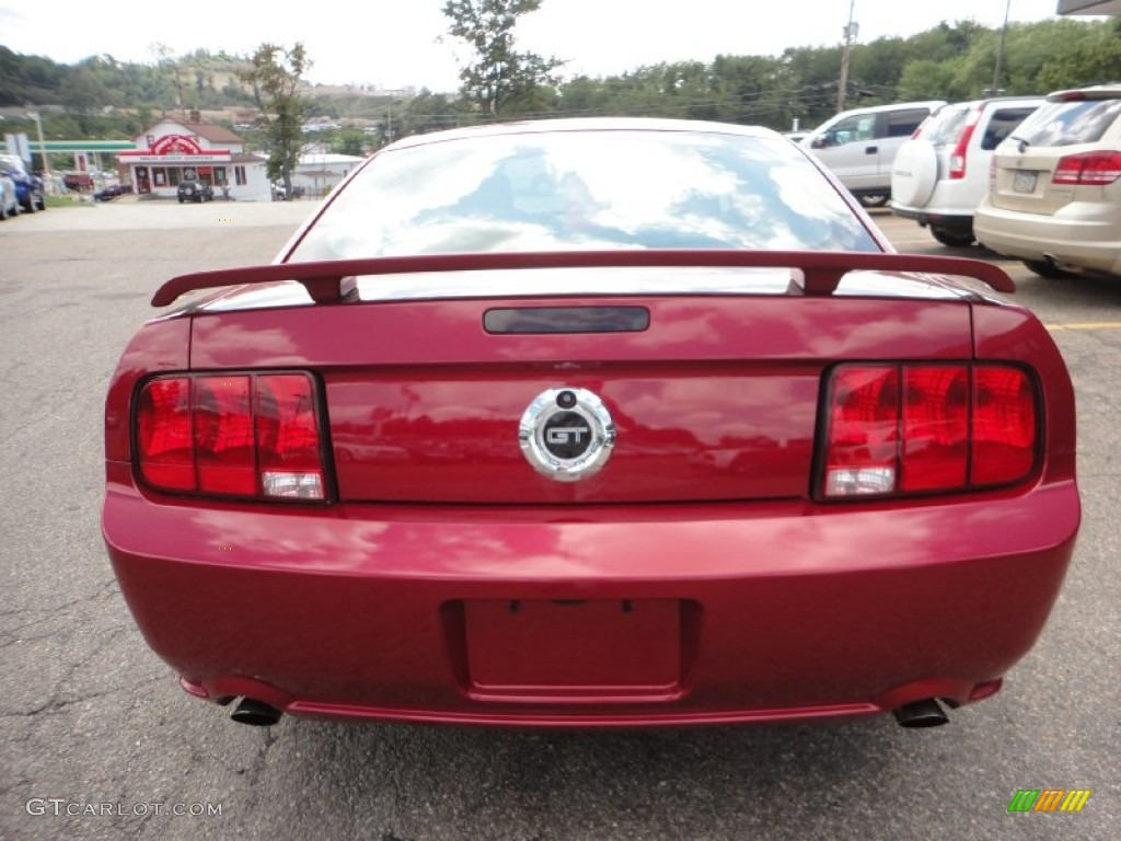 2006 Mustang GT Deluxe Coupe - Redfire Metallic / Dark Charcoal photo #3
