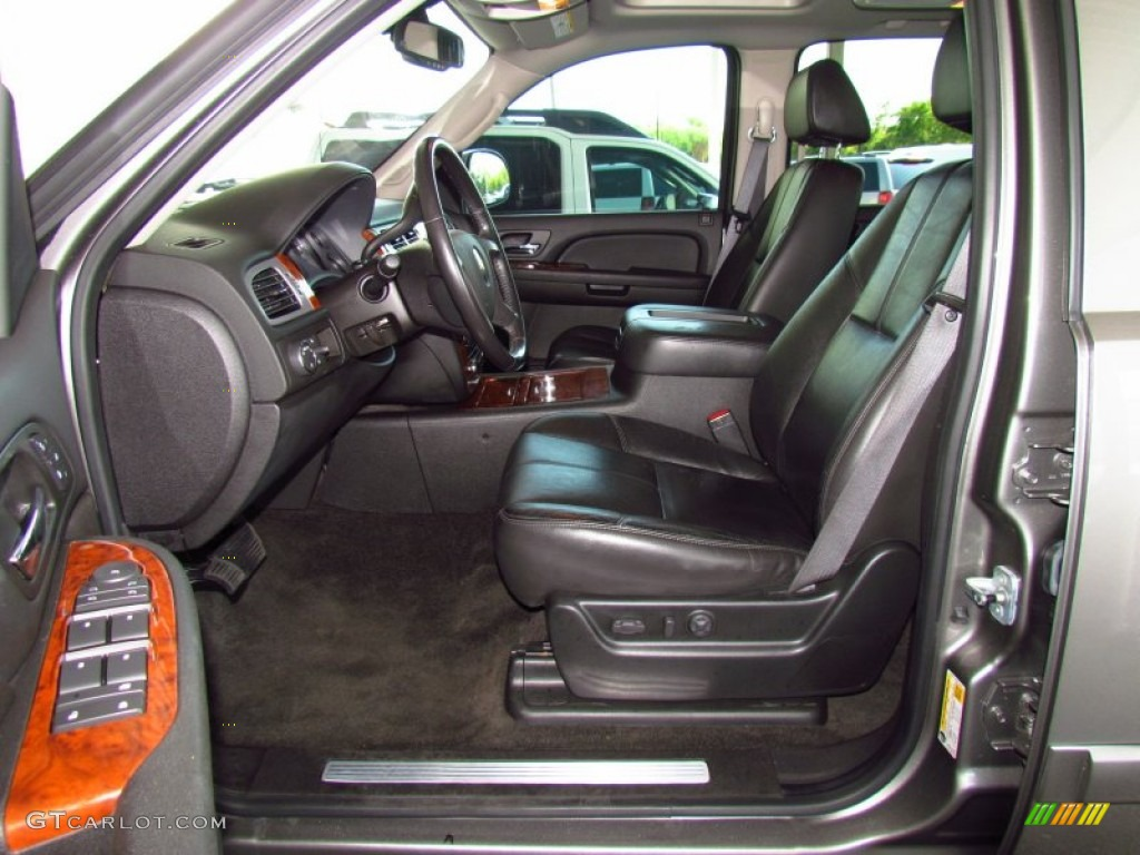 Ebony Interior 2008 Chevrolet Avalanche LTZ Photo #53424617 | GTCarLot ...