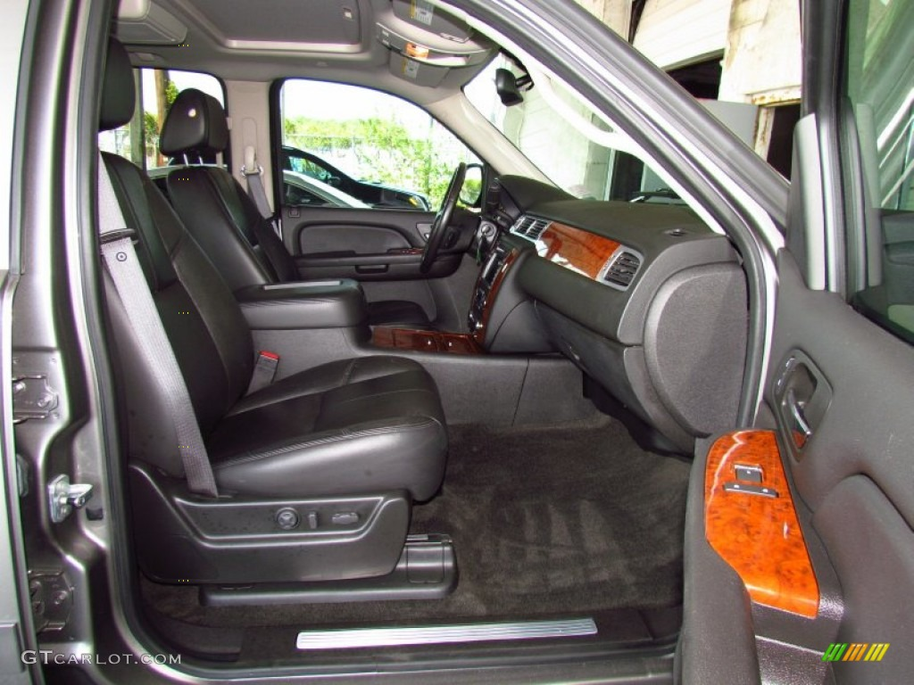 chevrolet avalanche interior ebony - photo #11