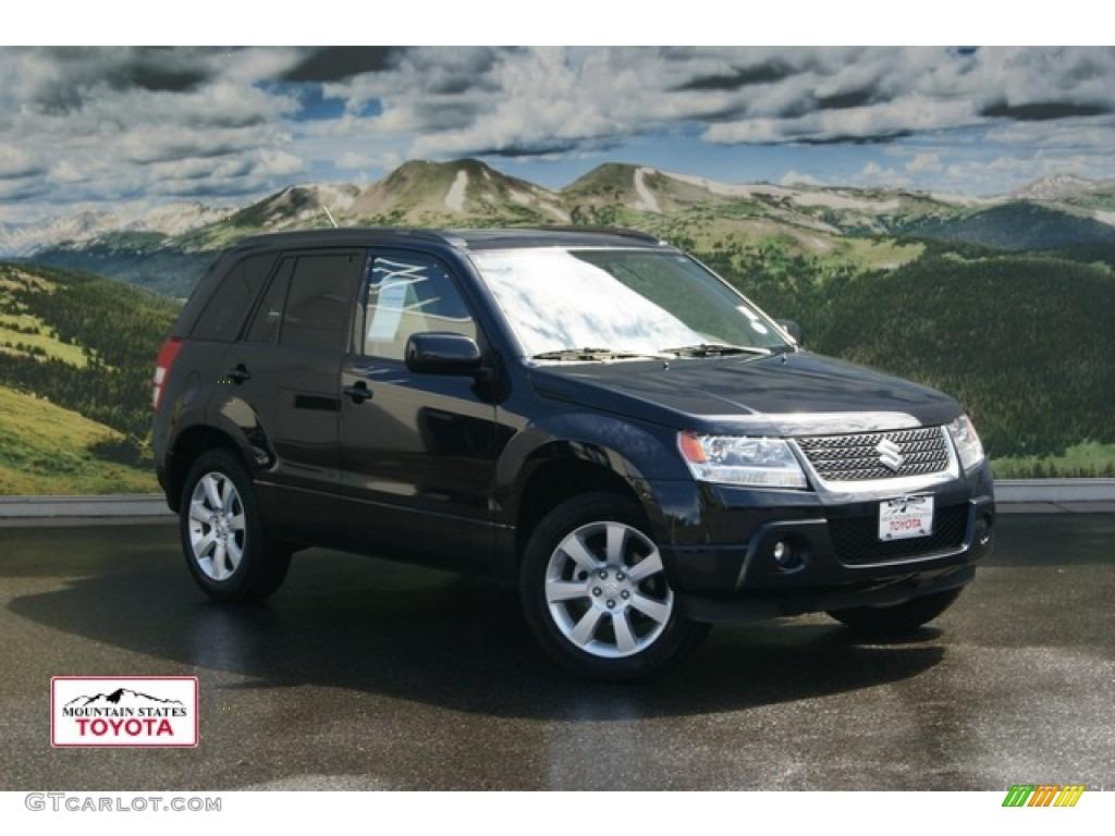 2011 Black Pearl Suzuki Grand Vitara Limited 4x4 53409465 Gtcarlot Com Car Color Galleries