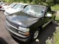 2000 Onyx Black Chevrolet Silverado 1500 Regular Cab  photo #3