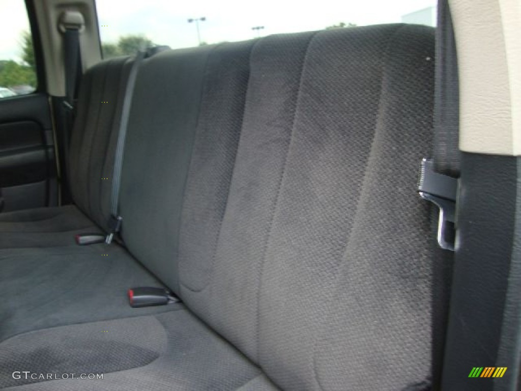 2002 Ram 1500 SLT Quad Cab 4x4 - Light Almond Pearl / Dark Slate Gray photo #11
