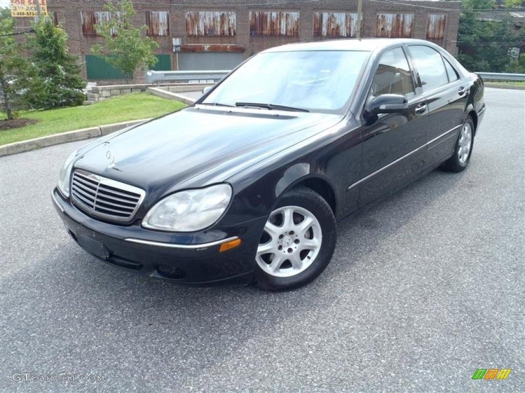 2002 black mercedes benz s 430 sedan 53410507 gtcarlot for Mercedes benz s 430