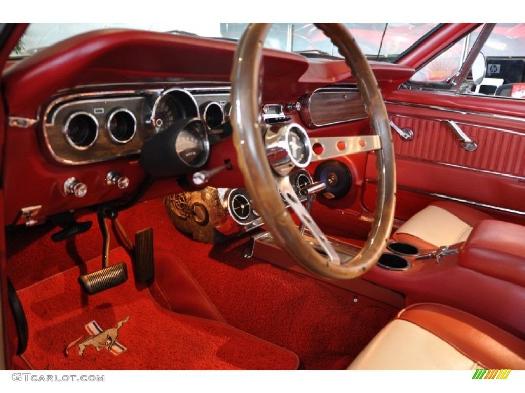 1964 Ford Mustang Convertible Interior Photo 53452765