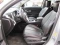 Jet Black Interior Photo for 2010 Chevrolet Equinox #53454647