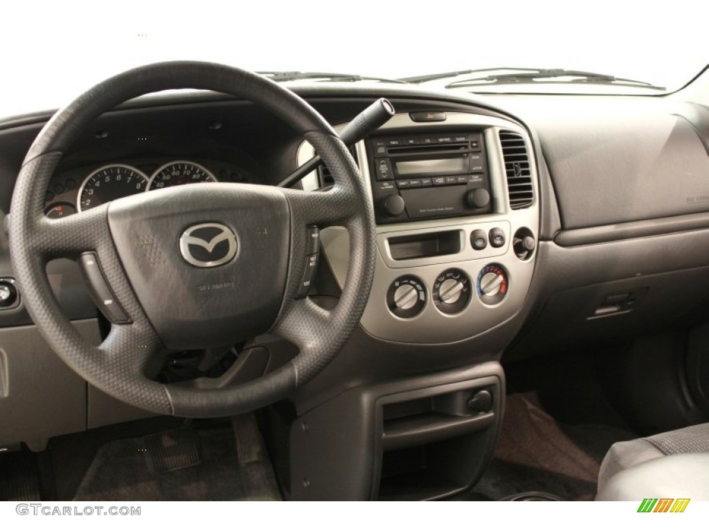 2004 mazda tribute lx v6 4wd dark flint grey dashboard. Black Bedroom Furniture Sets. Home Design Ideas