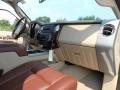 2012 White Platinum Metallic Tri-Coat Ford F250 Super Duty King Ranch Crew Cab 4x4  photo #22