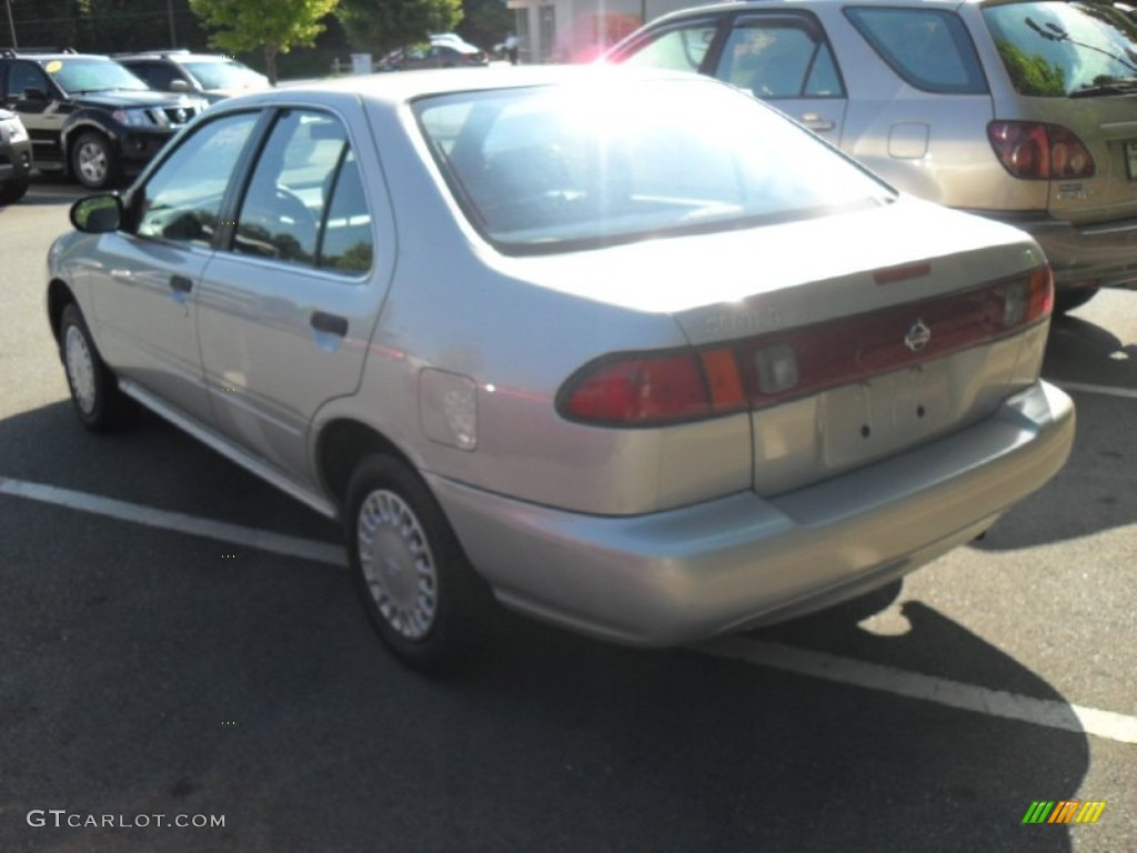 1999 sentra xe platinum gold gray photo 3