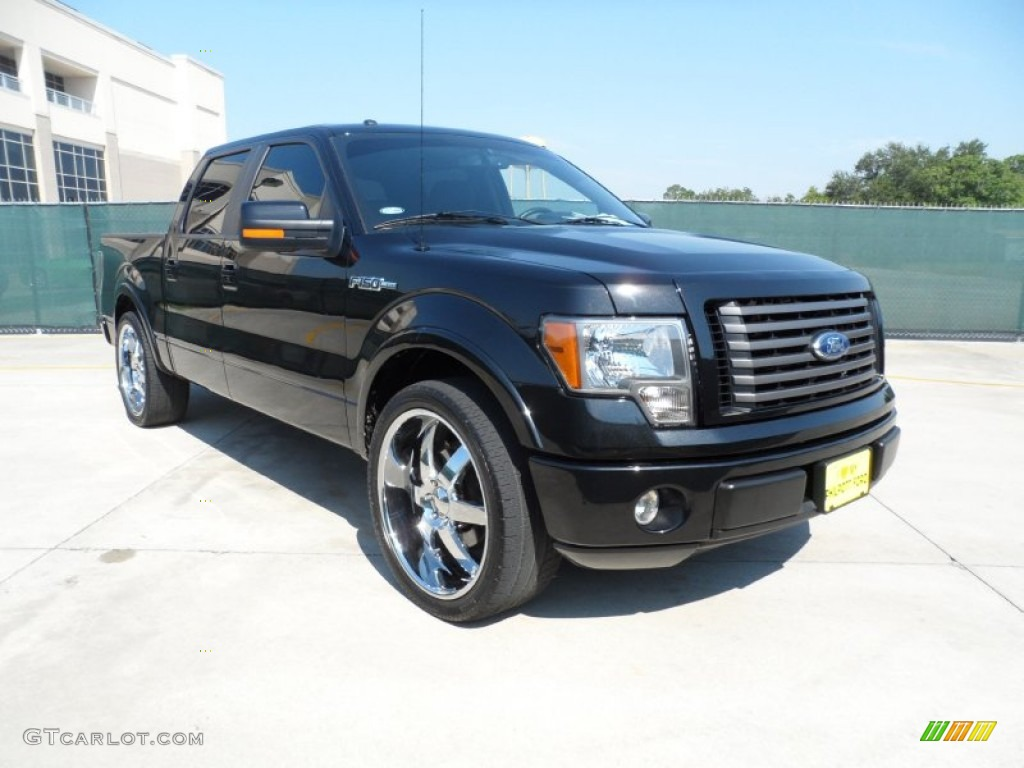 tuxedo black 2010 ford f150 fx2 supercrew exterior photo 53459786. Black Bedroom Furniture Sets. Home Design Ideas