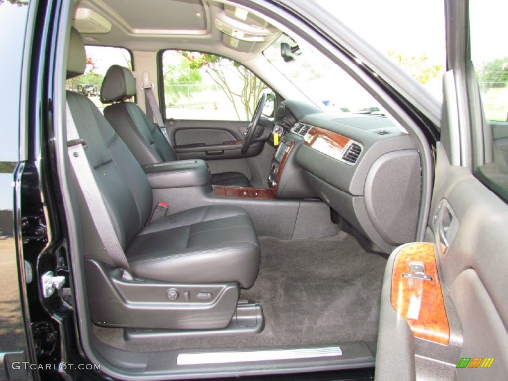chevrolet avalanche interior ebony - photo #16