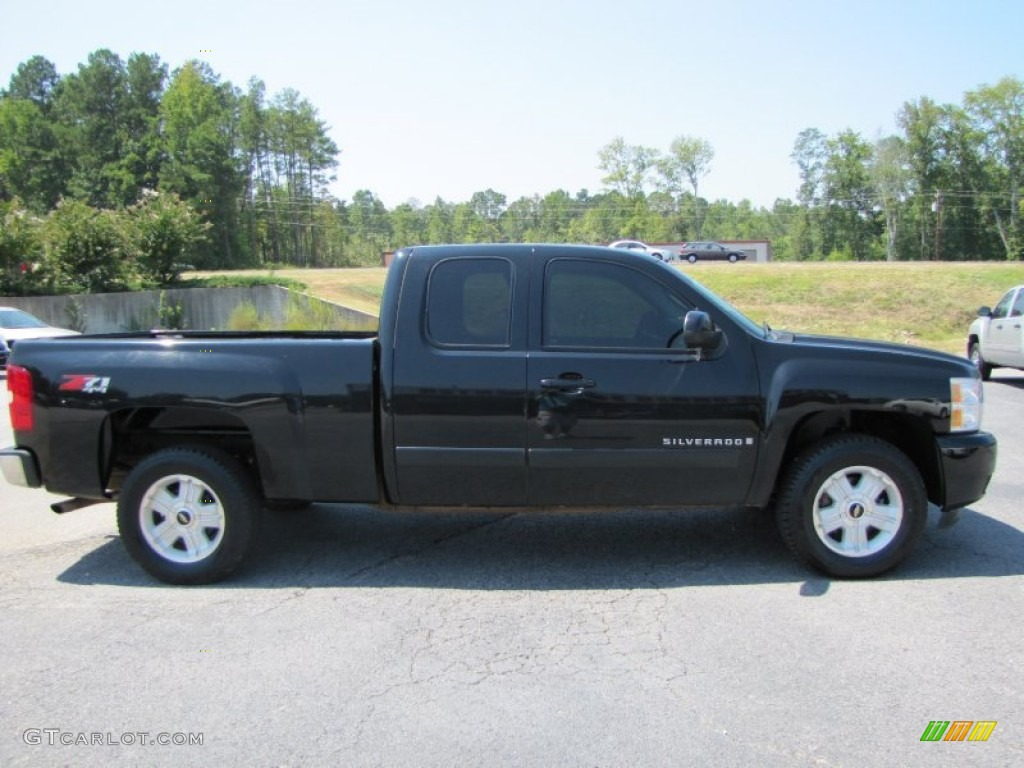 black 2008 chevrolet silverado 1500 ltz extended cab 4x4 exterior photo 53468583. Black Bedroom Furniture Sets. Home Design Ideas