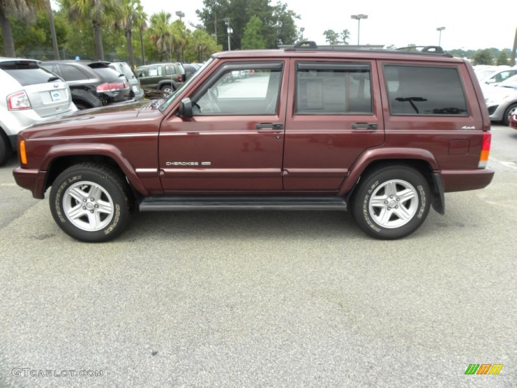 Sienna Pearl 2000 Jeep Cherokee Limited 4x4 Exterior Photo 53469442