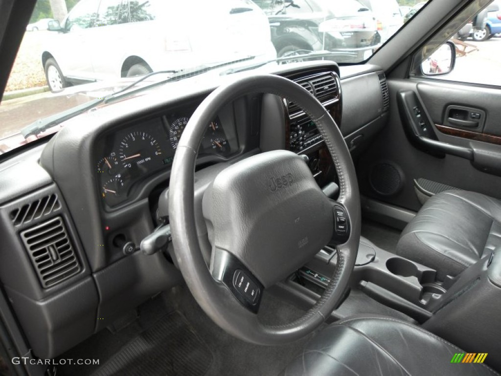 2000 jeep cherokee limited 4x4 interior photo 53469457 for Interieur jeep grand cherokee 2000