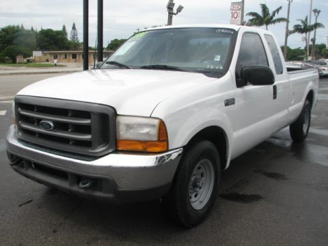 2000 Ford F250 Super Duty XL Extended Cab Data, Info and Specs