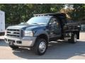 FW - Dark Green Satin Metallic Ford F550 Super Duty (2005)