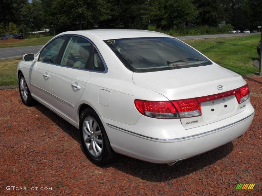 2007 Powder White Pearl Hyundai Azera Limited 53464079  GTCarLot