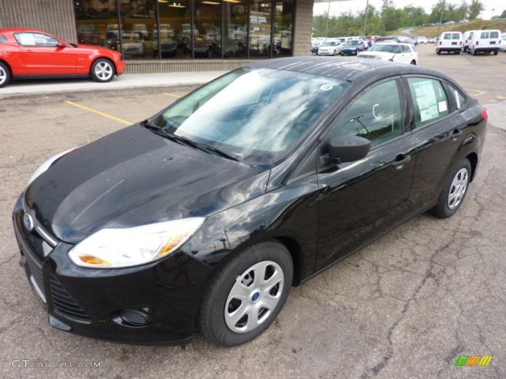 Black 2012 ford focus s sedan exterior photo 53486494