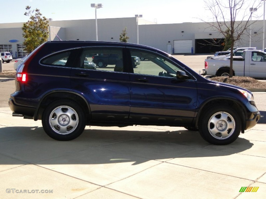 2008 CR-V LX - Royal Blue Pearl / Gray photo #4