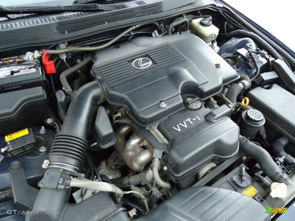 2001 Lexus IS 300 3.0 Liter DOHC 24-Valve VVT-i V6 Engine ...