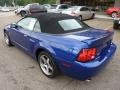 2003 Sonic Blue Metallic Ford Mustang Cobra Convertible  photo #2