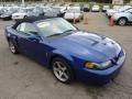 2003 Sonic Blue Metallic Ford Mustang Cobra Convertible  photo #6
