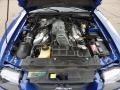2003 Sonic Blue Metallic Ford Mustang Cobra Convertible  photo #10