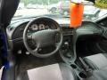 2003 Sonic Blue Metallic Ford Mustang Cobra Convertible  photo #13