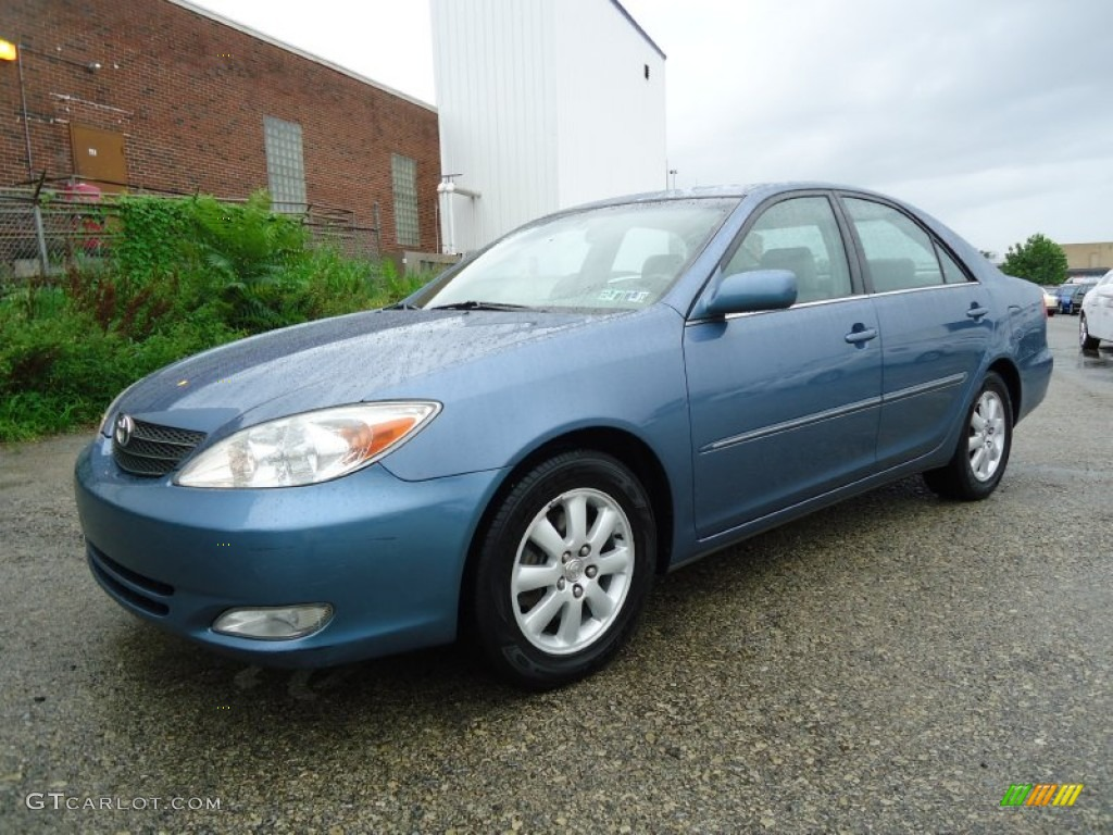 2004 catalina blue metallic toyota camry xle v6 53409817 car color galleries. Black Bedroom Furniture Sets. Home Design Ideas