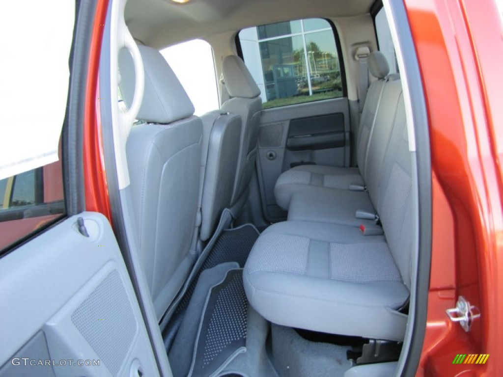 Medium Slate Gray Interior 2008 Dodge Ram 1500 Big Horn Edition Quad Cab Photo 53499021