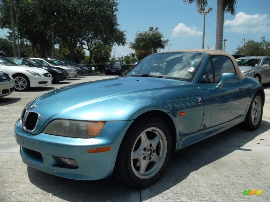 Atlanta Blue Metallic 1998 Bmw Z3 1 9 Roadster Exterior