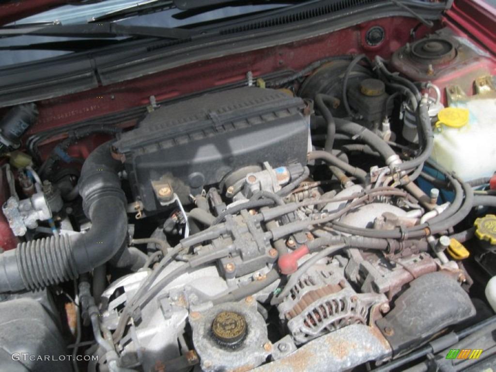 2001 subaru forester engine