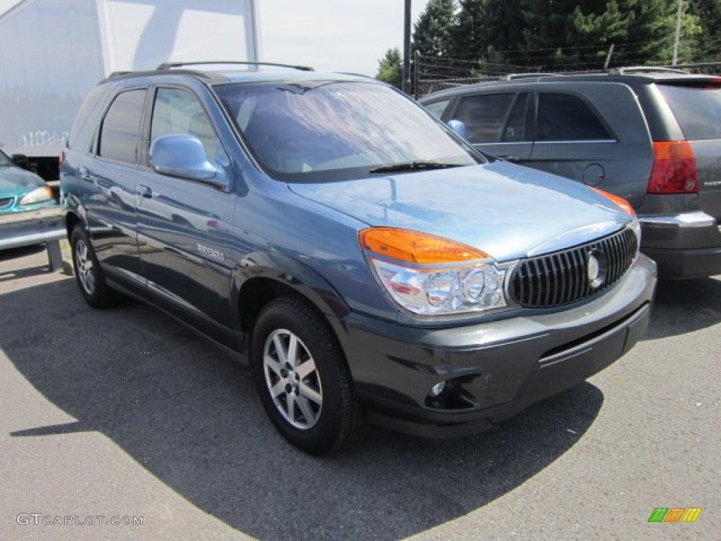 2002 opal blue buick rendezvous cxl awd 53463160. Black Bedroom Furniture Sets. Home Design Ideas