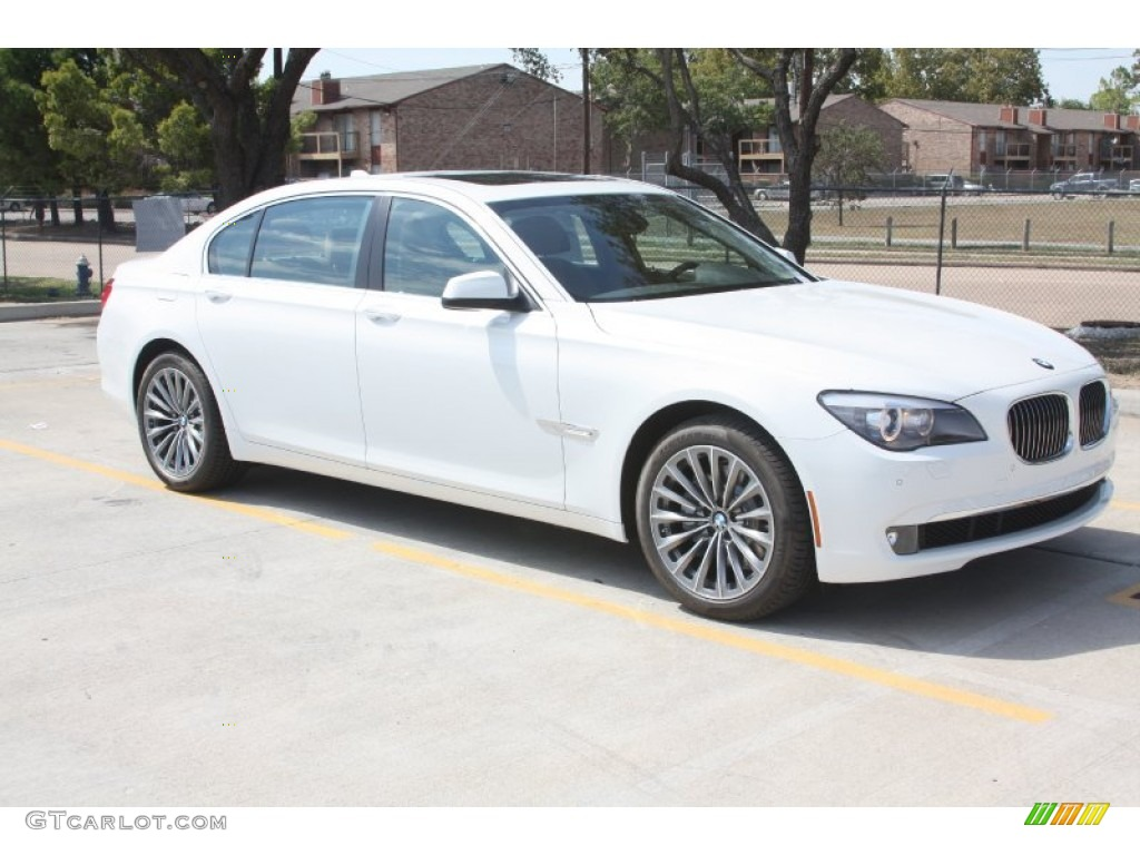 alpine white 2012 bmw 7 series 740li sedan exterior photo. Black Bedroom Furniture Sets. Home Design Ideas