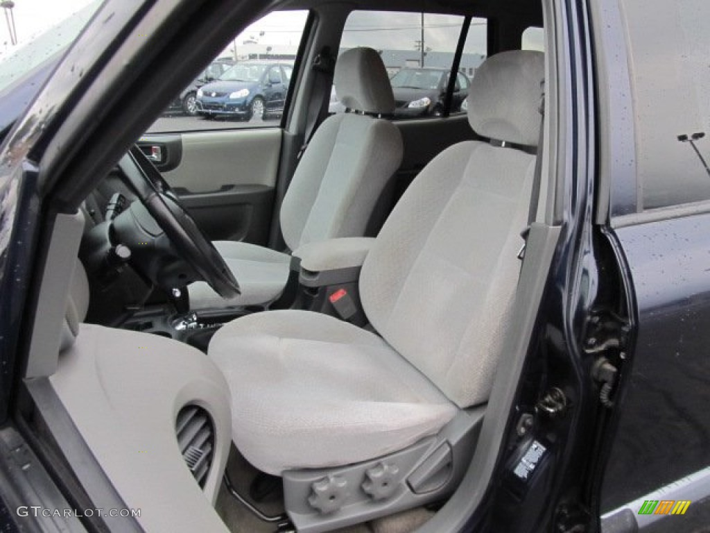Gray Interior 2005 Hyundai Santa Fe Lx 3 5 Photo 53521147